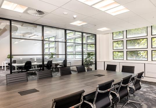 A meeting room, Sydney Startup Hub