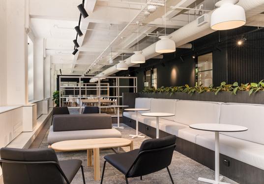 Collaboration area, Sydney Startup Hub